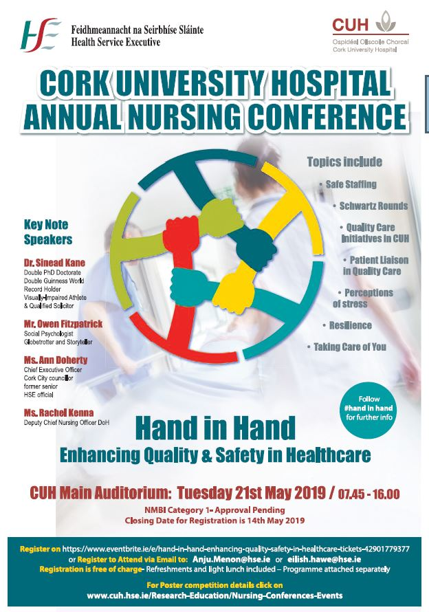 Cork University Hospital - Annual Nursing Conference - Cork