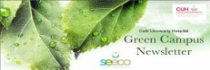 green campus newsletter banner