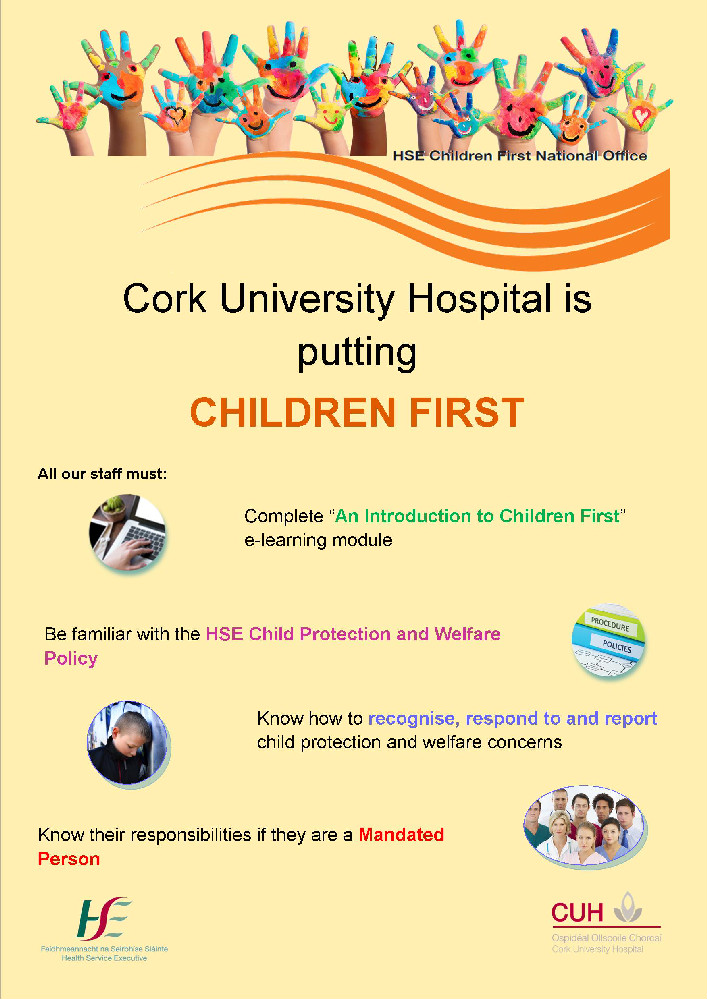 Children First Awareness Poster 2017