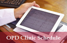 OPD Clinic Schedule